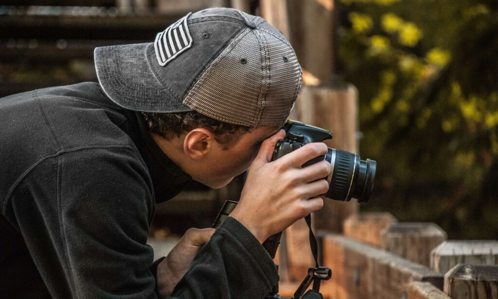 work with a commercial photographer