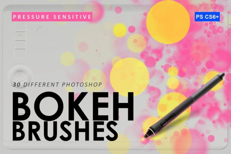 Bokeh Photoshop Brush