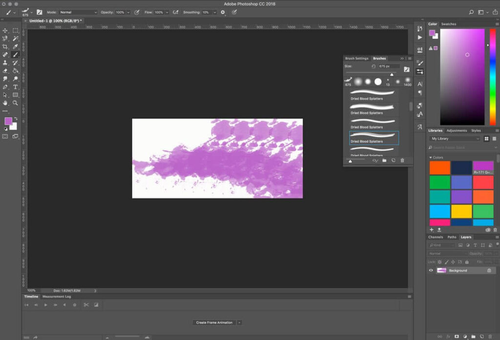 How to Use a Photoshop Brush