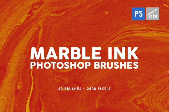 Marble Ink Photoshop Brush