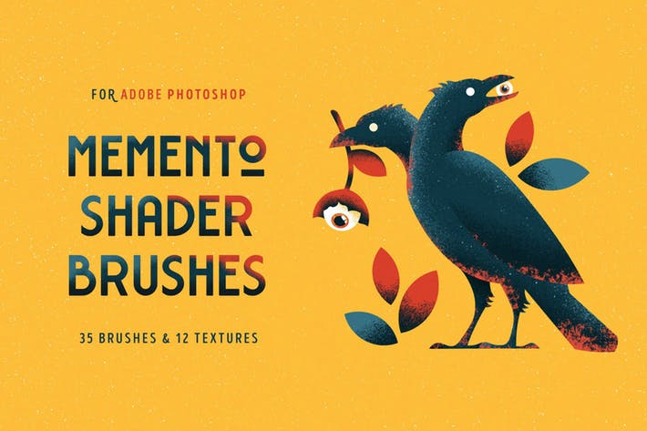 Memento Shader Photoshop Brush