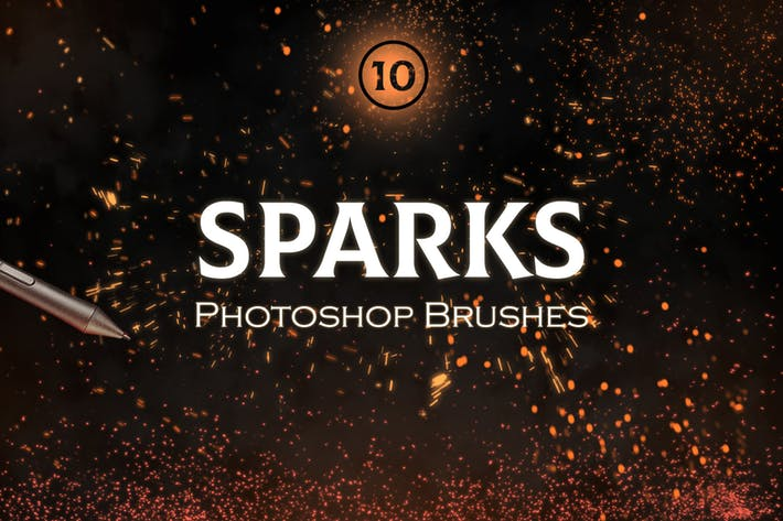 Sparks Photoshop Brush