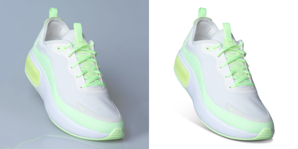 Footwear Photo Editing Services